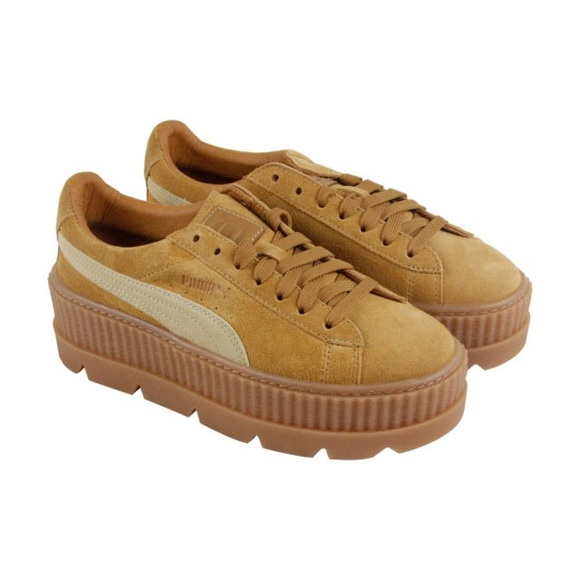 huge selection of 1352a 5871c PUMA FENTY x RIHANNA SUEDE CLEATED CREEPER